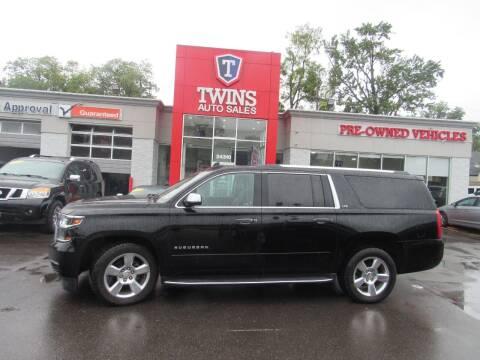 2016 Chevrolet Suburban for sale at Twins Auto Sales Inc in Detroit MI