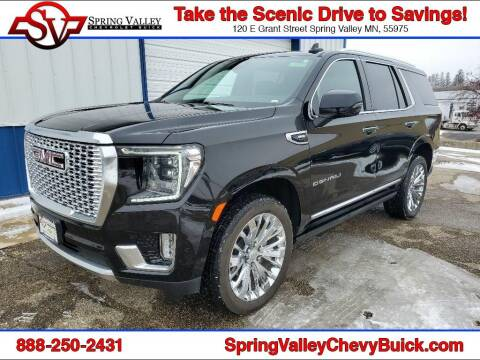 2021 GMC Yukon for sale at Spring Valley Chevrolet Buick in Spring Valley MN