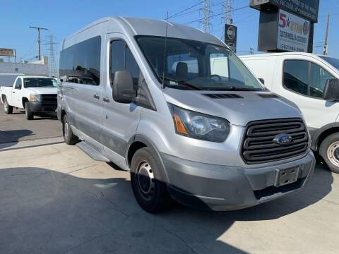 2016 Ford Transit Passenger for sale at Best Buy Quality Cars in Bellflower CA