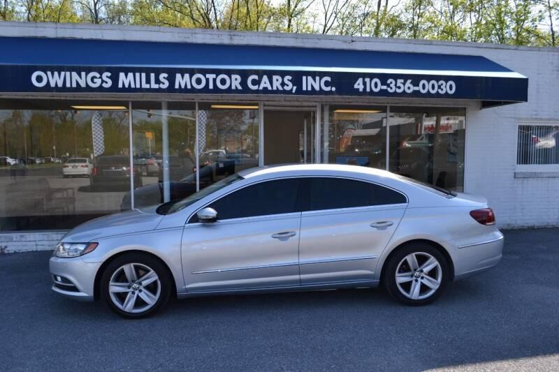 2014 Volkswagen CC for sale at Owings Mills Motor Cars in Owings Mills MD