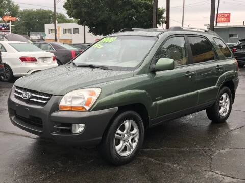 2006 Kia Sportage for sale at Capitol Auto Sales in Lansing MI