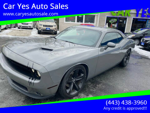 2017 Dodge Challenger for sale at Car Yes Auto Sales in Baltimore MD