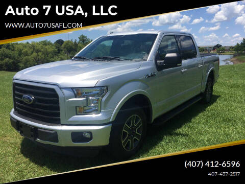 2016 Ford F-150 for sale at Auto 7 USA, LLC in Orlando FL