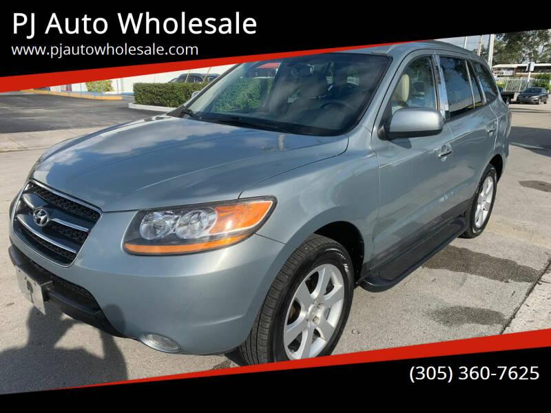 2009 Hyundai Santa Fe for sale at PJ AUTO WHOLESALE in Miami FL
