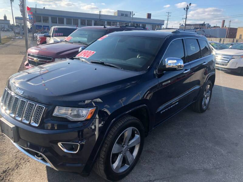 2014 Jeep Grand Cherokee for sale at Kramer Motor Co INC in Shelbyville IN