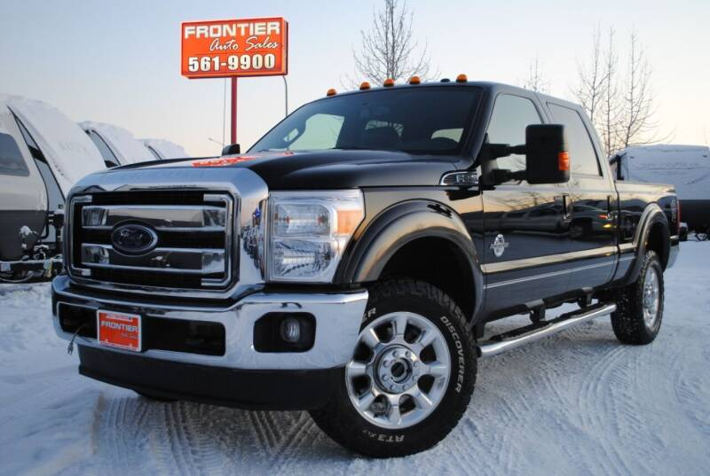2016 Ford F-350 Super Duty for sale at Frontier Auto & RV Sales in Anchorage AK