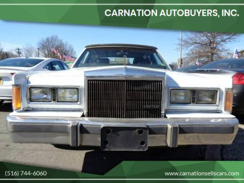 1989 Lincoln Town Car for sale at CarNation AUTOBUYERS, Inc. in Rockville Centre NY