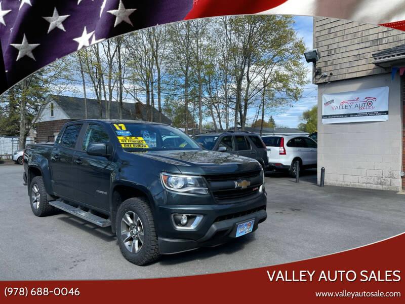 2017 Chevrolet Colorado for sale at VALLEY AUTO SALES in Methuen MA