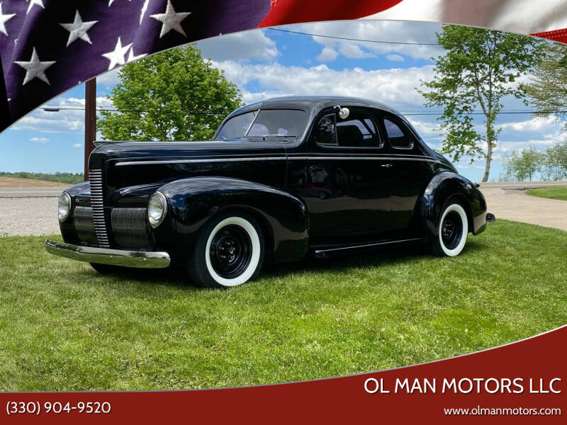 1940 Nash Lafayette Business Coupe for sale at Ol Man Motors LLC in Louisville OH