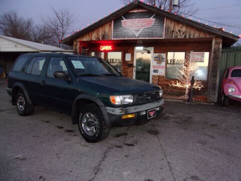 1996 Nissan Pathfinder for sale at LEE AUTO SALES in McAlester OK