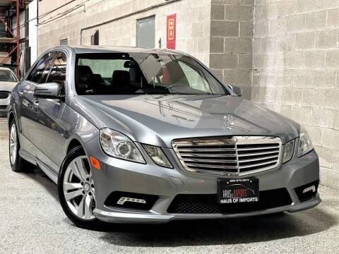 2011 Mercedes-Benz E-Class for sale at Haus of Imports in Lemont IL