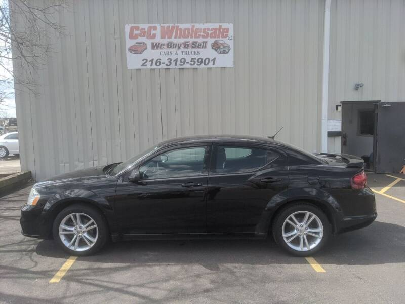 2013 Dodge Avenger for sale at C & C Wholesale in Cleveland OH