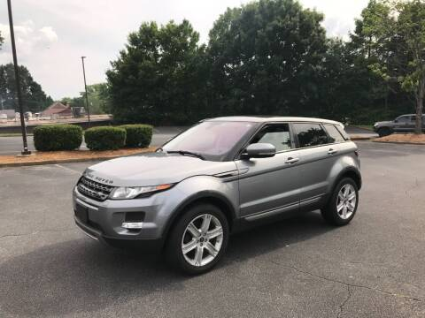 2013 Land Rover Range Rover Evoque for sale at SMZ Auto Import in Roswell GA