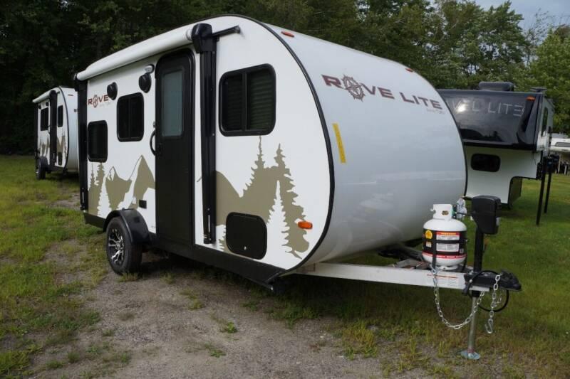 2021 Rove Lite 14BH for sale at Polar RV Sales in Salem NH