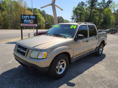 2004 Ford Explorer Sport Trac for sale at Let's Go Auto in Florence SC