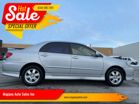 2007 Toyota Corolla for sale at Magana Auto Sales Inc in Aurora IL