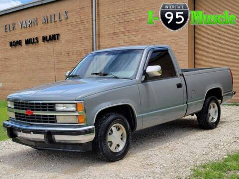 1991 Chevrolet C/K 1500 Series for sale at I-95 Muscle in Hope Mills NC