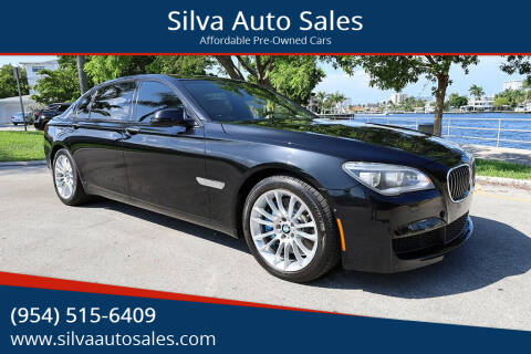 2014 BMW 7 Series for sale at Silva Auto Sales in Pompano Beach FL