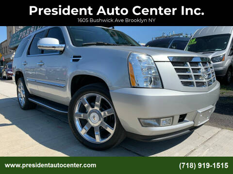 2010 Cadillac Escalade for sale at President Auto Center Inc. in Brooklyn NY