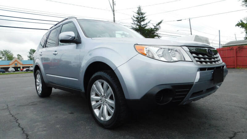 2012 Subaru Forester for sale at Action Automotive Service LLC in Hudson NY