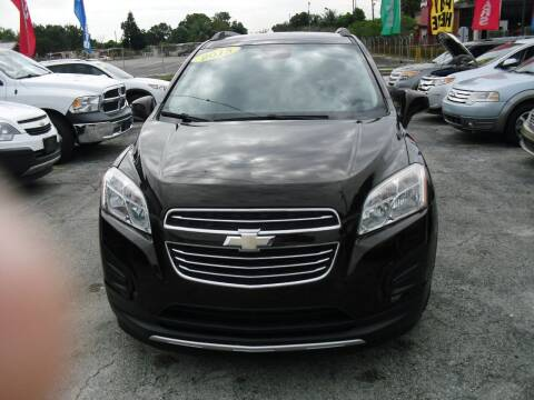 2015 Chevrolet Trax for sale at SUPERAUTO AUTO SALES INC in Hialeah FL