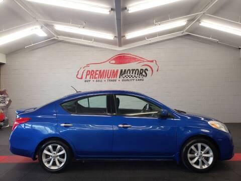 2014 Nissan Versa for sale at Premium Motors in Villa Park IL