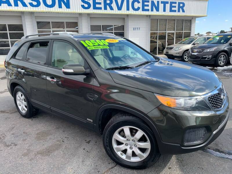 2012 Kia Sorento for sale at Carson Servicenter in Carson City NV