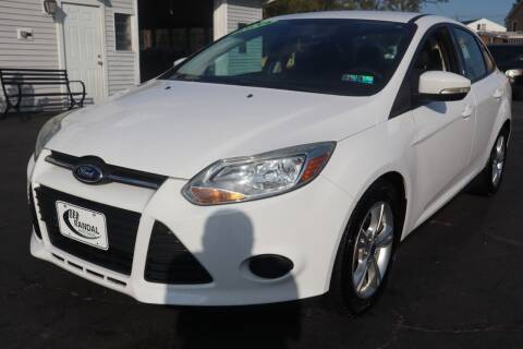 2014 Ford Focus for sale at Randal Auto Sales in Eastampton NJ