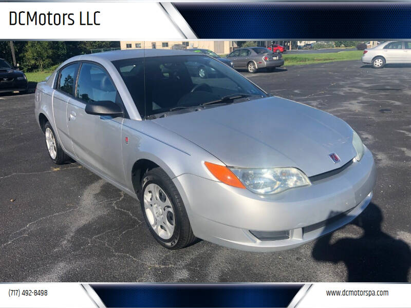 2004 Saturn Ion for sale at DCMotors LLC in Mount Joy PA