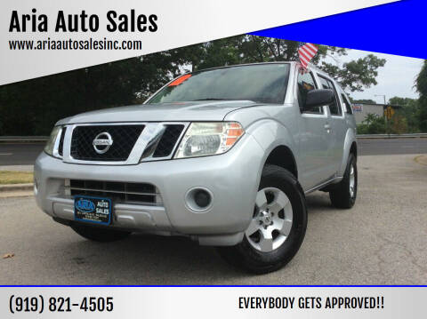 2010 Nissan Pathfinder for sale at ARIA  AUTO  SALES in Raleigh NC