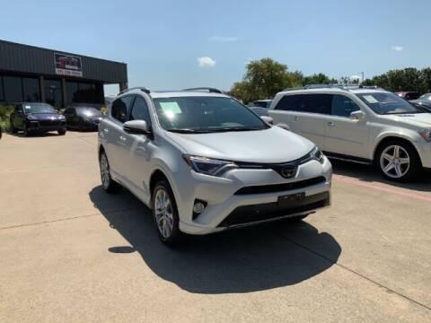 2018 Toyota RAV4 for sale at KIAN MOTORS INC in Plano TX