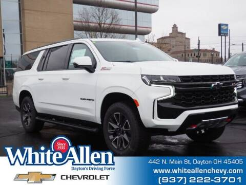 2021 Chevrolet Suburban for sale at WHITE-ALLEN CHEVROLET in Dayton OH
