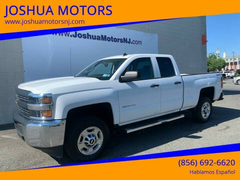 2015 Chevrolet Silverado 2500HD for sale at JOSHUA MOTORS in Vineland NJ