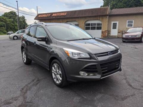 2015 Ford Escape for sale at Worley Motors in Enola PA
