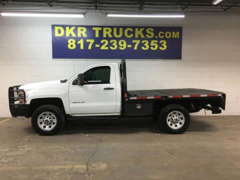 2015 Chevrolet Silverado 3500HD for sale at DKR Trucks in Arlington TX