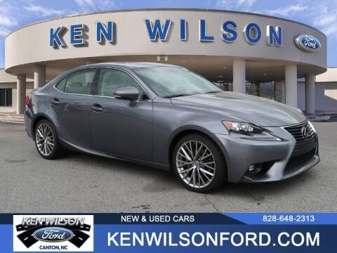 2015 Lexus IS 250 for sale at Ken Wilson Ford in Canton NC