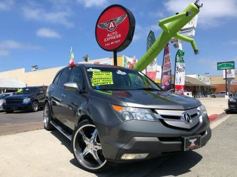 2008 Acura MDX for sale at Auto Express in Chula Vista CA