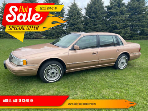 1994 Lincoln Continental for sale at ADELL AUTO CENTER in Waldo WI