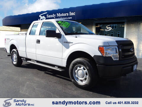 2014 Ford F-150 for sale at Sandy Motors Inc in Coventry RI