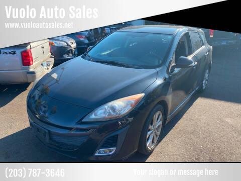 2010 Mazda MAZDA3 for sale at Vuolo Auto Sales in North Haven CT