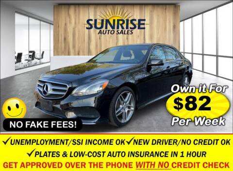 2014 Mercedes-Benz E-Class for sale at AUTOFYND in Elmont NY