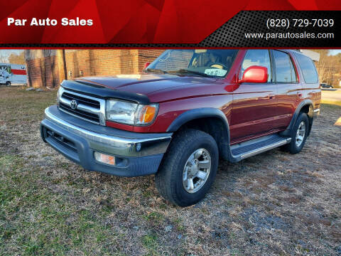 2000 Toyota 4Runner for sale at Par Auto Sales in Lenoir NC