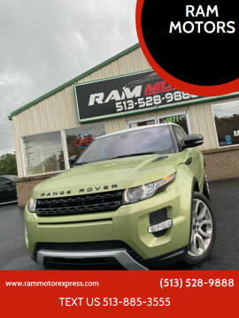 2012 Land Rover Range Rover Evoque Coupe for sale at RAM MOTORS in Cincinnati OH
