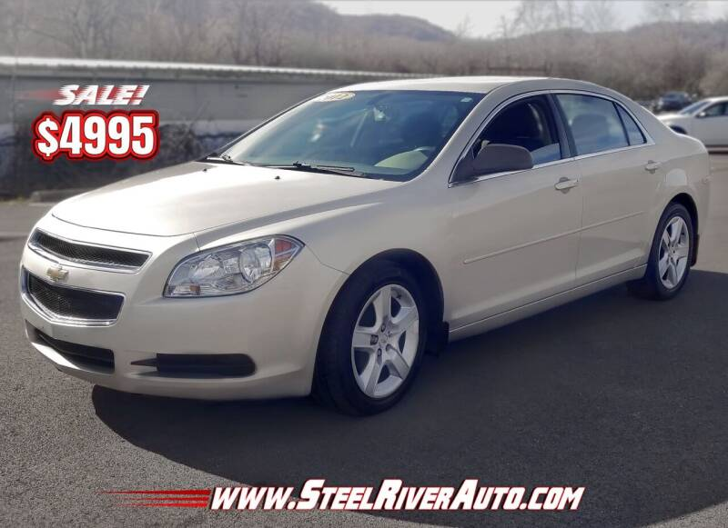 2012 Chevrolet Malibu for sale at Steel River Auto in Bridgeport OH