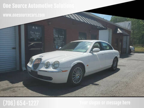 2006 Jaguar S-Type for sale at One Source Automotive Solutions in Braselton GA