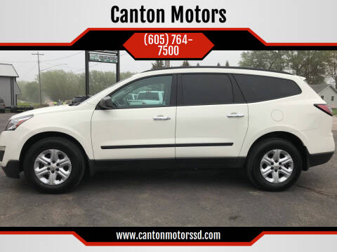 2015 Chevrolet Traverse for sale at Canton Motors in Canton SD