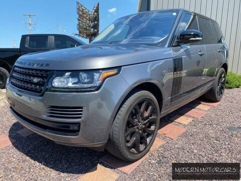 2017 Land Rover Range Rover for sale at Modern Motorcars in Nixa MO