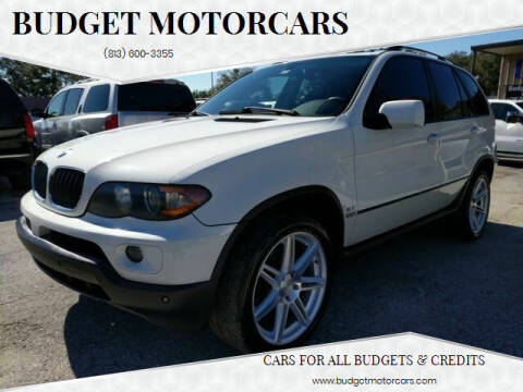 2006 BMW X5 for sale at Budget Motorcars in Tampa FL