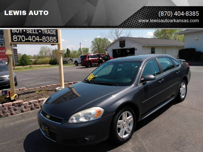 2010 Chevrolet Impala for sale at LEWIS AUTO in Mountain Home AR