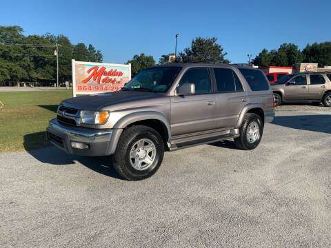 2002 Toyota 4Runner for sale at Madden Motors LLC in Iva SC